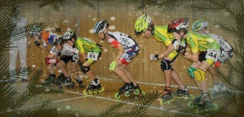 Vánoční halové in-line závody / Winter indoor inline