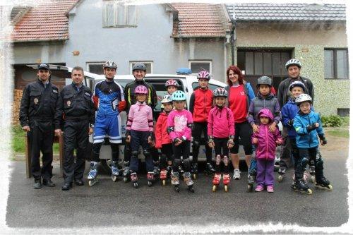 Den bez aut s IN-LINE VESELÍ a Městskou policií