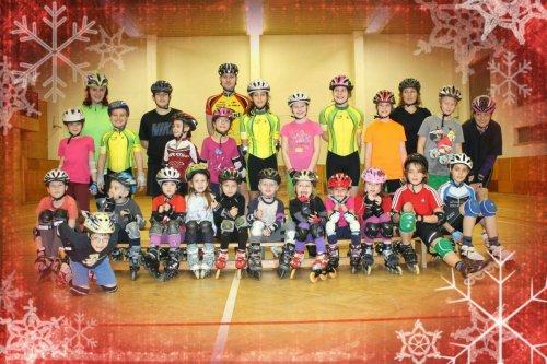 Vánoční oddílové závody