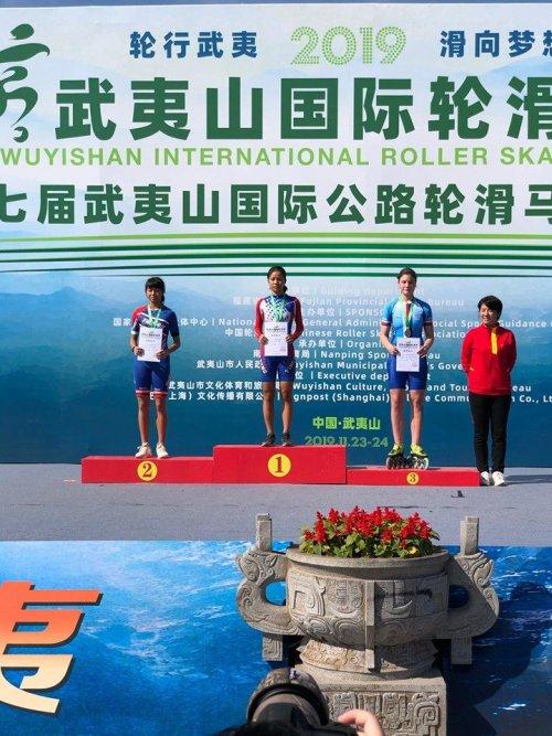 Účast na závodech v Číně