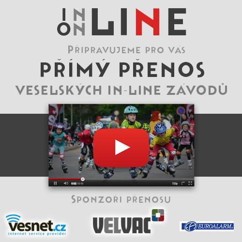 Novinky pro 7. ročník Veselských in-line závodů